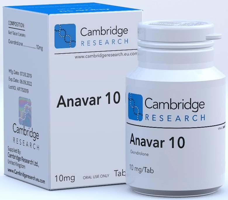 Anavar (Oxandrolone) Cena